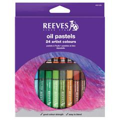 Large Oil Pastel 24-Color Set