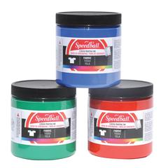 Speedball 8 oz. Fabric Screen Printing Ink Red