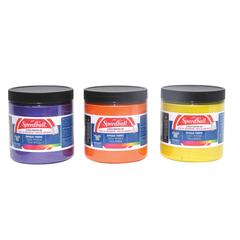 Speedball 8 oz. Opaque Fabric Screen Printing Ink Blue Topaz