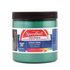 8 oz. Opaque Fabric Screen Printing Ink Emerald