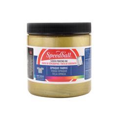 Speedball 8 oz. Opaque Fabric Screen Printing Ink Gold