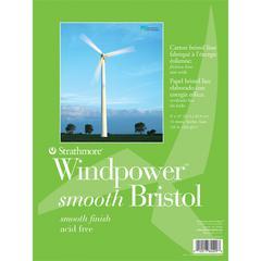 """Strathmore Windpower Tape Bound Bristol Pad 9"""" x 12"""""""
