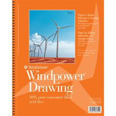 "9"" x 12"" Medium Surface Wire Bound Drawing Pad"