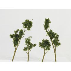 Wee Scapes Architectural Model Foliage Tree Medium Green 24-pack