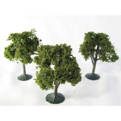 Architectural Model Deciduous Trees 3-Pack