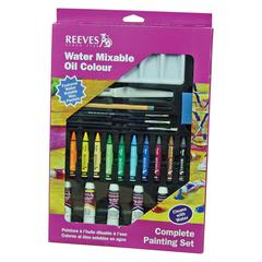 Water Mixable Oil Color Complete Set