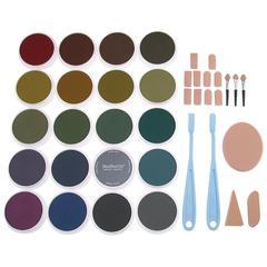 PanPastel Ultra Soft Painting Pastels Extra Dark Shade 20-Set