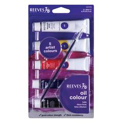 22ml Oil Paint 5-Color Set