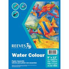 Reeves 9 x 12 Watercolor Pad