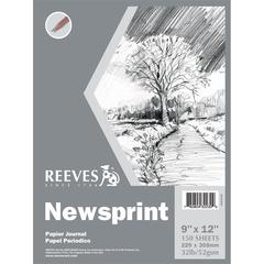 Reeves 9 x 12 Newsprint Pad