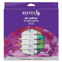 Reeves 22ml Oil Paint 20-Color Set