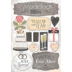 Karen Foster Design Cardstock Stickers Husband and Wife