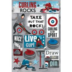 Karen Foster Design Cardstock Stickers Curling