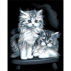 Scraperfoil Fluffy Kittens