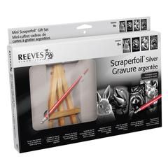 Reeves Mini Scraperfoil Silver Foil Gift Set