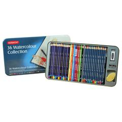 Derwent Watercolor Pencil 36-Color Tin Set