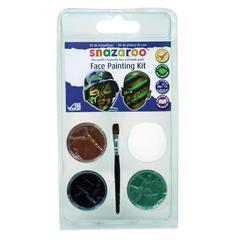 Mini Face Painting Clam Shell Kit Camo