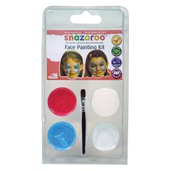 Snazaroo Mini Face Painting Clam Shell Kit Butterfly
