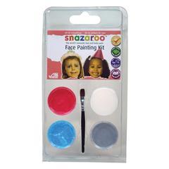 Mini Face Painting Clam Shell Kit Princess