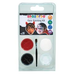 Mini Face Painting Clam Shell Kit Devil