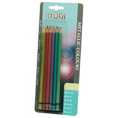 Metallic Color 6-Pencil Set