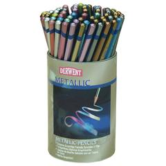 Derwent Metallic Pencil 72-Color Tub