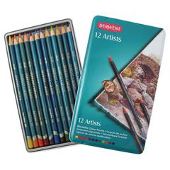 Derwent Artist Pencil 12-Color Tin Set