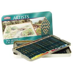 Derwent Artist Pencil 72-Color Tin Set