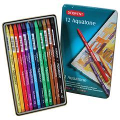 Derwent Aquatone Pencil 12-Color Set