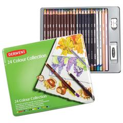 Pencil Collection 24-Color Tin Set