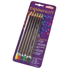 ColorSoft Pencil 6-Color Set