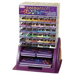 Derwent Colorsoft Pencil Countertop Display Assortment