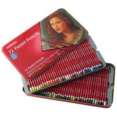 Pastel Pencil 72-Color Tin Set
