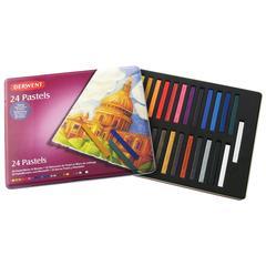 Pastel Block 24-Color Tin Set