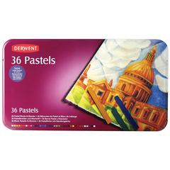 Pastel Block 36-Color Tin Set