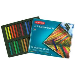 Derwent Inktense Inktense 24 Color Tin Set