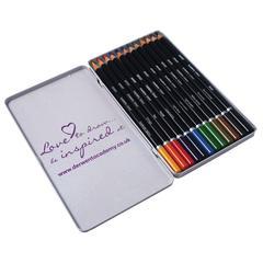 Derwent Academy Pencil 12-Color Tin Set