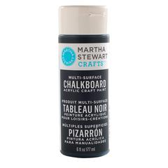 Martha Stewart Crafts Chalkboard Paint