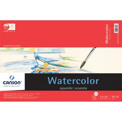 "12"" x 18"" Watercolor Cold Press 15-Sheet Pad"