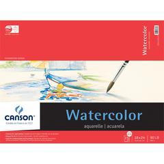 "18"" x 24"" Watercolor Cold Press 15-Sheet Pad"