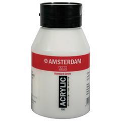 Royal Talens Amsterdam All Acrylic Standard Series 1000ml Titanium White