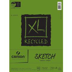 """9"""" x 12"""" Recycled Sketch Sheet Pad"""