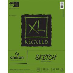 "11"" x 14"" Recycled Sketch Sheet Pad"