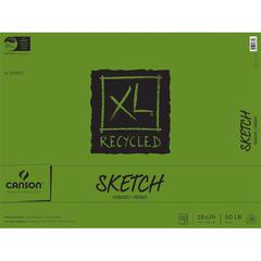"18"" x 24"" Recycled Sketch Sheet Pad"