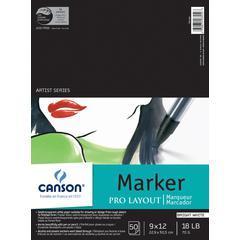 "Canson Artist Series 9"" x 12"" Marker Sheet Pad"