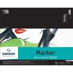 "Canson Artist Series 19"" x 24"" Marker Sheet Pad"