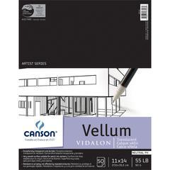 "Canson Artist Series 11"" x 14"" Vellum Sheet Pad"