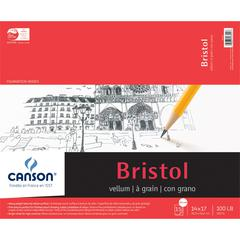 "Canson Foundation Series Foundation Series Vellum Bristol 14"" x 17"""