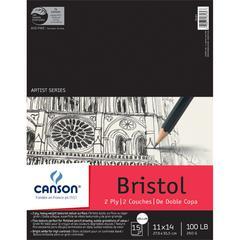 "Canson Artist Series 11"" x 14"" Bristol Sheet Pad"