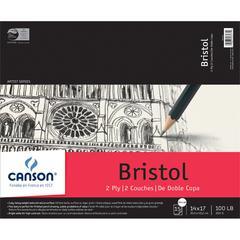 "Canson Artist Series 14"" x 17"" Bristol Sheet Pad"